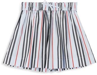 Burberry Little Girl's & Girl's Striped Shorts