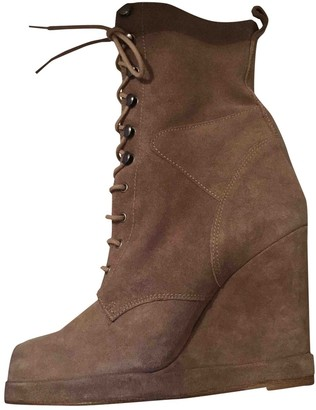 Surface to Air Beige Suede Ankle boots