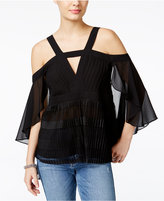 GUESS Off-The-Shoulder Drama Top