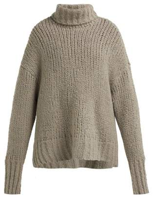 By. Bonnie Young - Cashmere Blend Oversized Sweater - Womens - Brown