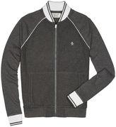 Original Penguin Mesh Texture Track Jacket