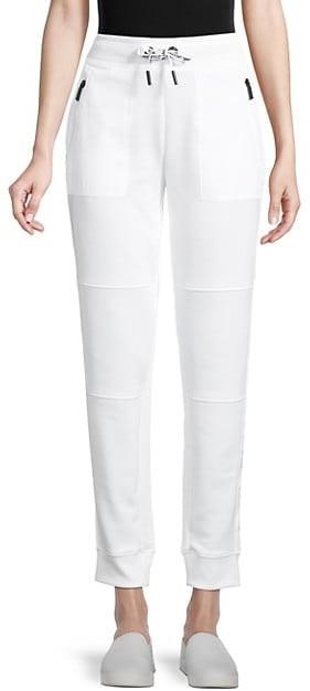 Karl Lagerfeld Paris Logo Drawstring Jogger Pants