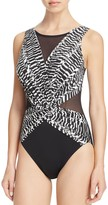 Miraclesuit Between the Pleats Palma One Piece Swimsuit