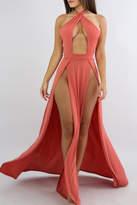 Coral Maxi Dresses - ShopStyle