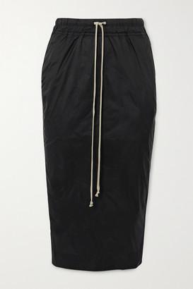 Rick Owens Shell Midi Skirt - Black