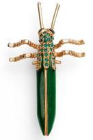 Oscar de la Renta Women's Grasshopper Brooch