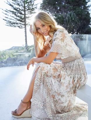 Forever New Darla Tiered Maxi Dress - Jacobean Blossom - 16