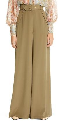 Zimmermann Wide Leg Silk Pants