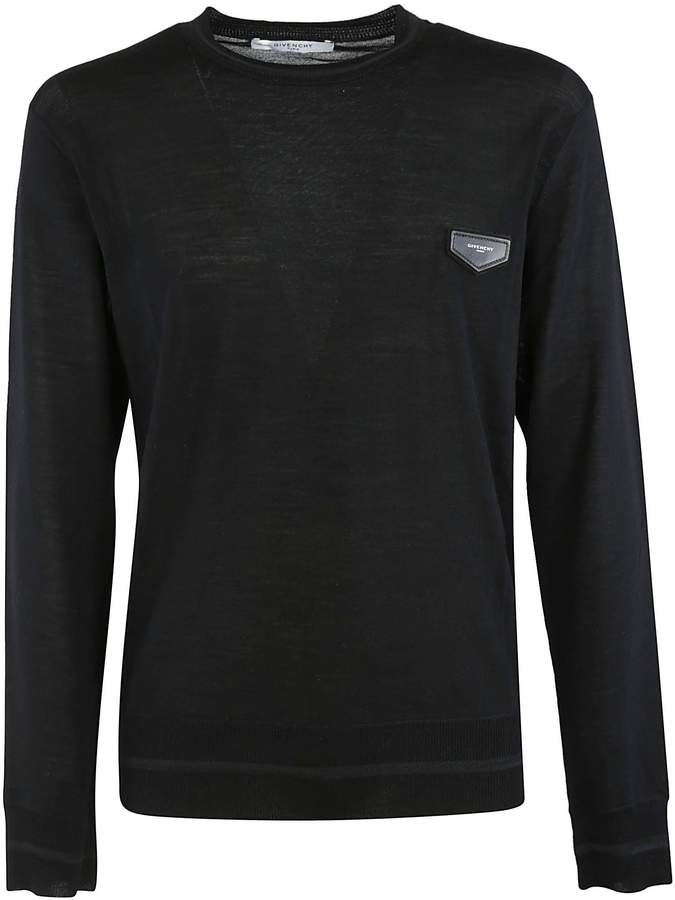 Givenchy Chest Logo Patch Jumper