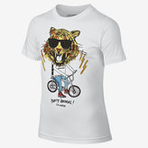 Nike Converse Tiger on a Bike Big Kids' (Boys') T-Shirt (XS-XL)
