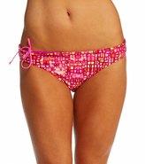 Reebok Fitness Lauren Pink Reversible Print Bikini Bottom 7539346