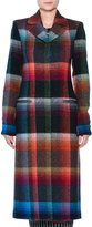 Missoni Check Mohair-Blend Single-Breasted Coat