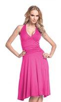 Glamour Empire. Women's Halterneck Summer Skater Party Jersey Dress S-4XL. 145 (