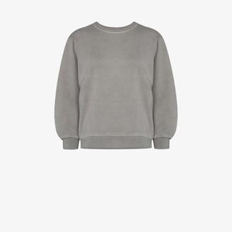 AGOLDE Thora cotton sweatshirt