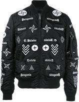 Marcelo Burlon County of Milan Roldan bomber jacket - men - Nylon - S