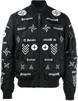 Marcelo Burlon County of Milan Roldan bomber jacket