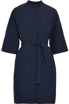 Co Belted Poplin Shirt Dress