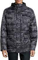 Hawke & Co Men's MMF Polyfill Camo Jacket - Grey Heather, Size xxl [xx-large]