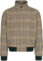 Prada check bomber jacket