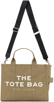 Marc Jacobs Khaki The Small Traveler Tote