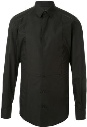 Dolce & Gabbana Tuxedo Slim-Fit Shirt