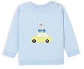 Jacadi Boys' Car, Dog & Seagull Sweater - Baby