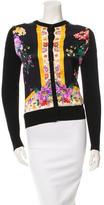 Dolce & Gabbana Wool and Silk-Blend Printed Cardigan