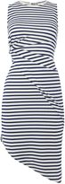 Wal G Wal-G Sleeveless Knot Stripe Dress