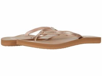 Sanuk Women's Yoga Joy Shimmer Metallic Flip-Flop