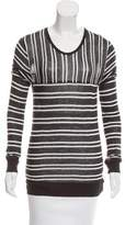 Alexander Wang Striped Long Sleeve Top w/ Tags
