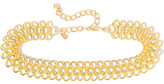 Kenneth Jay Lane Gold-plated Choker - one size