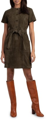 Trina Turk Penny Suede Dress