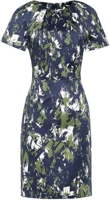 Jason Wu Printed Cotton And Silk-blend Dress
