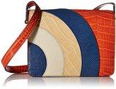 Orla Kiely Croc Applique Leather Bonnie Bag