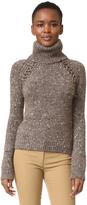 Veronica Beard Indie Mock Neck Sweater