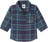 Petit Bateau Baby boy's checked cotton shirt