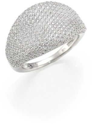 Adriana Orsini Pave Dome Ring
