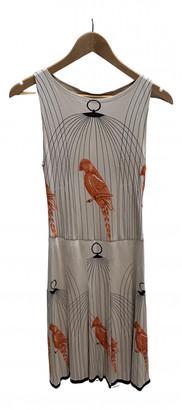 Cacharel Beige Silk Dresses