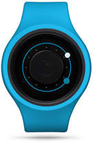 "Ziiiro Stainless Steel & Silicone Watch ""Orbit Plus+"""