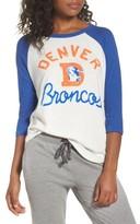 Junk Food Clothing Women's Nfl Denver Broncos Raglan Tee