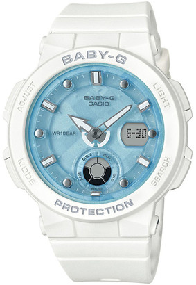 Baby-G Beach Traveller Series White Watch BGA250-7A1