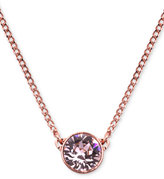 "Givenchy 16"" Necklace, Swarovski Element Pendant"