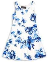 Un Deux Trois Little Girl's & Girl's Floral-Print Dress