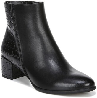 Soul Naturalizer Richy Croc Embossed Block Heel Boot - Wide Width Available