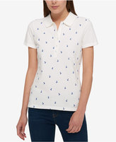 Tommy Hilfiger Anchor-Print Polo, Created for Macy's