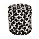 Dormify Majestic Home Goods Small Printed Pouf