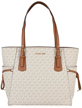 MICHAEL Michael Kors Grained Leather Voyager Tote Bag
