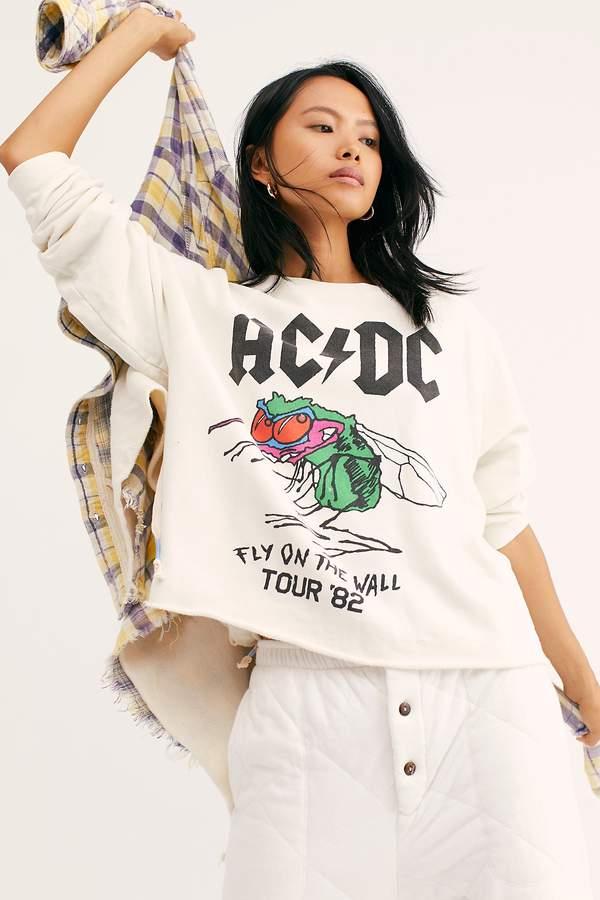 Original Retro Brand Black Label ACDC Tour Pullover