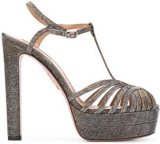 Aquazzura Strappy Platform Sandals