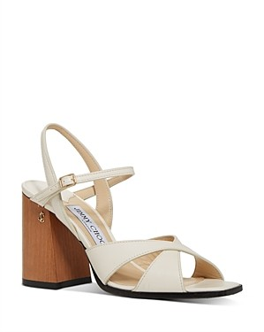 Jimmy Choo Women's Joya Block Heel Sandals